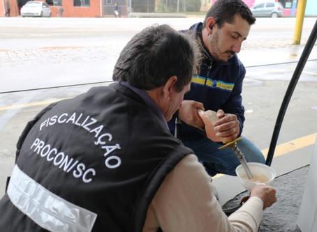 Em Imbituba suposta adulteração em bomba de Combustível é descartada pelo PROCON