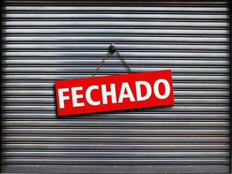 Loja de eletrodomésticos é fechada por estar furando a quarentena