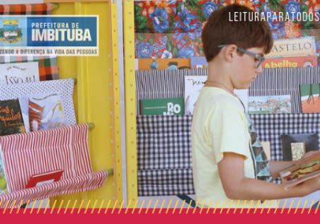 Biblioteca Pública de Imbituba estimula a leitura por meio do debate com a comunidade