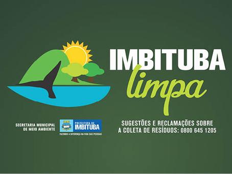 """Campanha """"Imbituba Limpa"""" ganha corpo e já mostra resultados"""