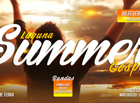 Laguna sediará mega show Gospel