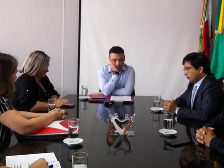 Comitiva Imbitubense solicita implantação de UTI no hospital São Camilo