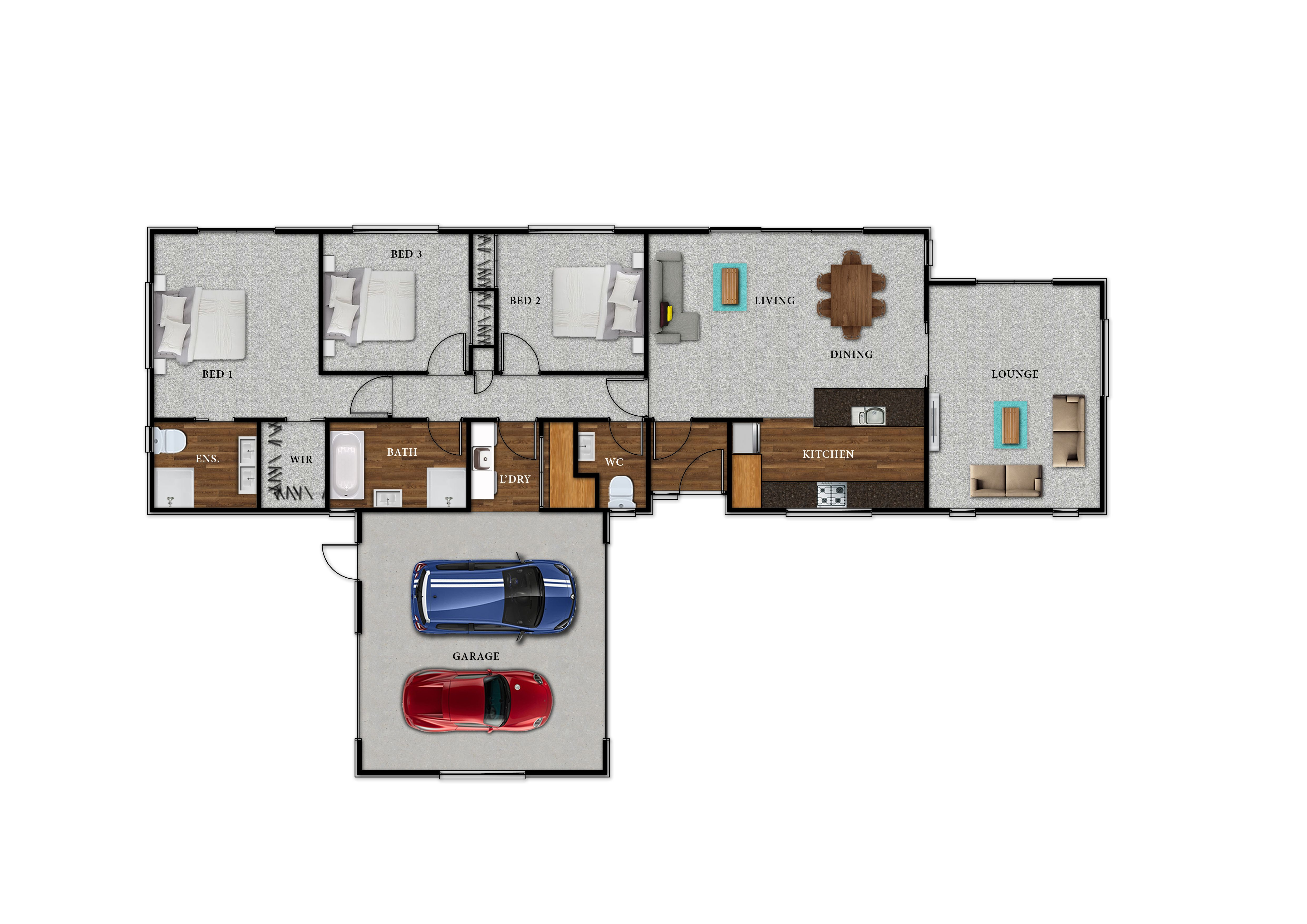Lot 104 Kingsbridge West - Floor Plan
