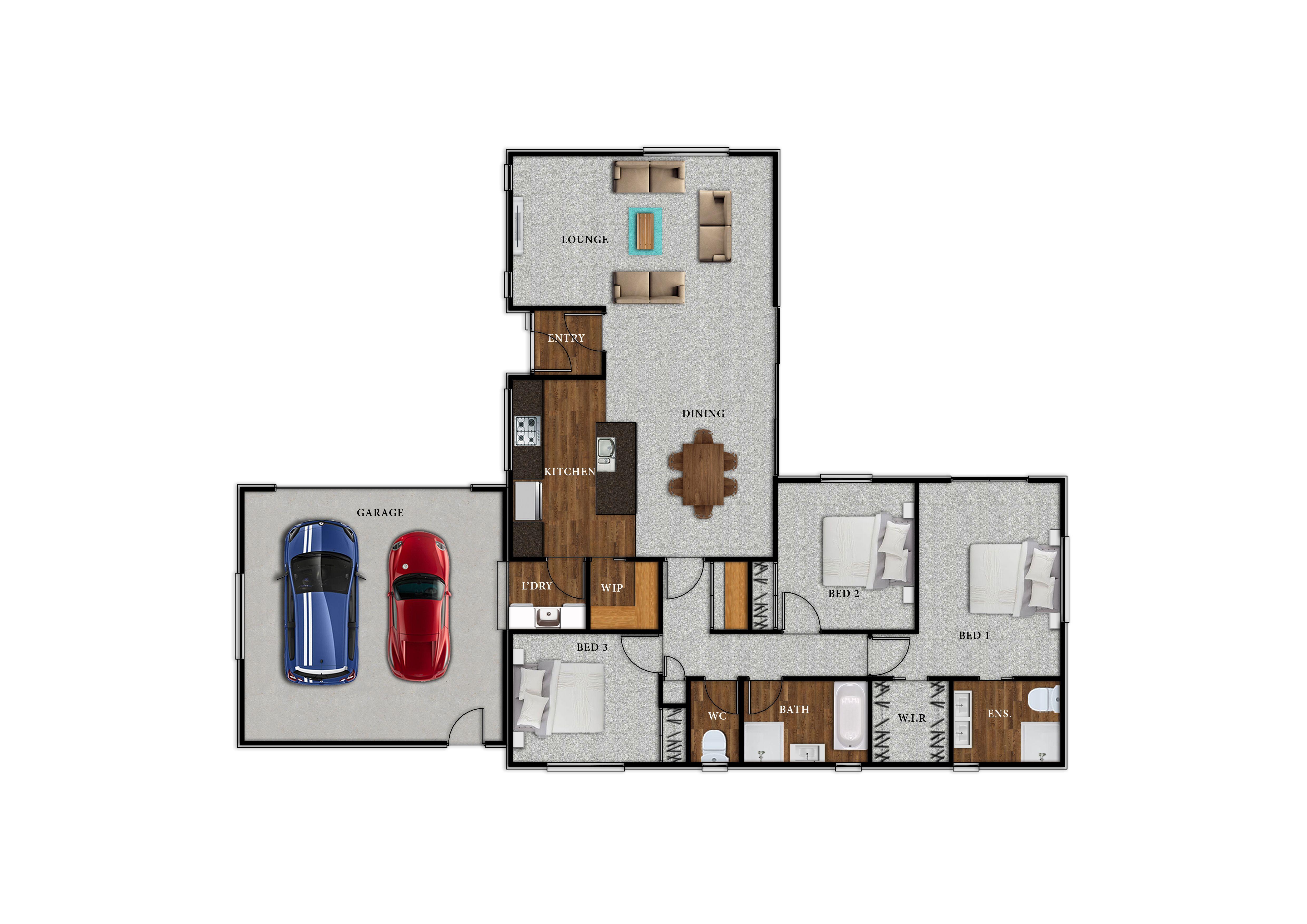 Lot 100 Brooker Ave - Floor Plan