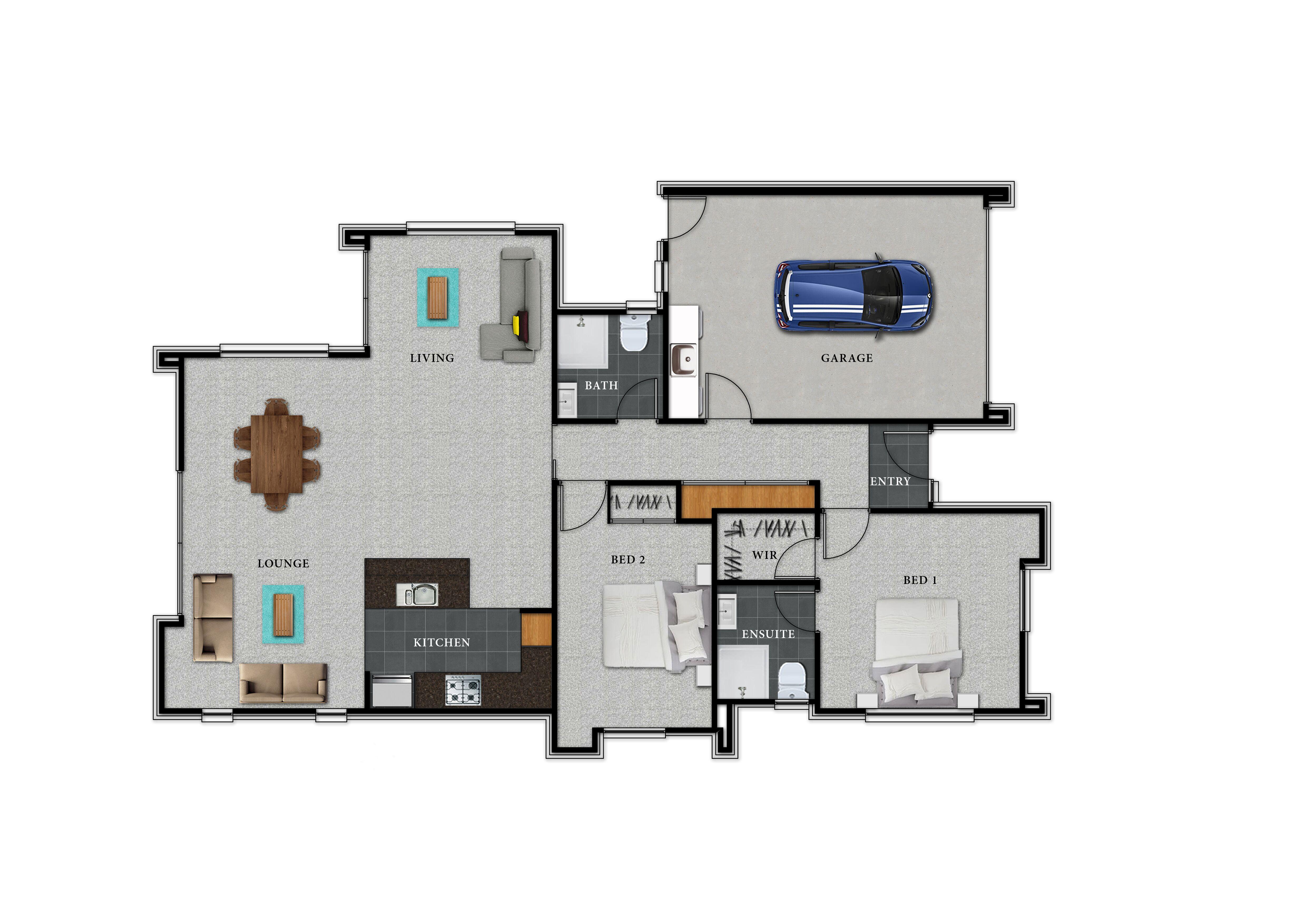 Lot 131 Rannoch - Floor Plan