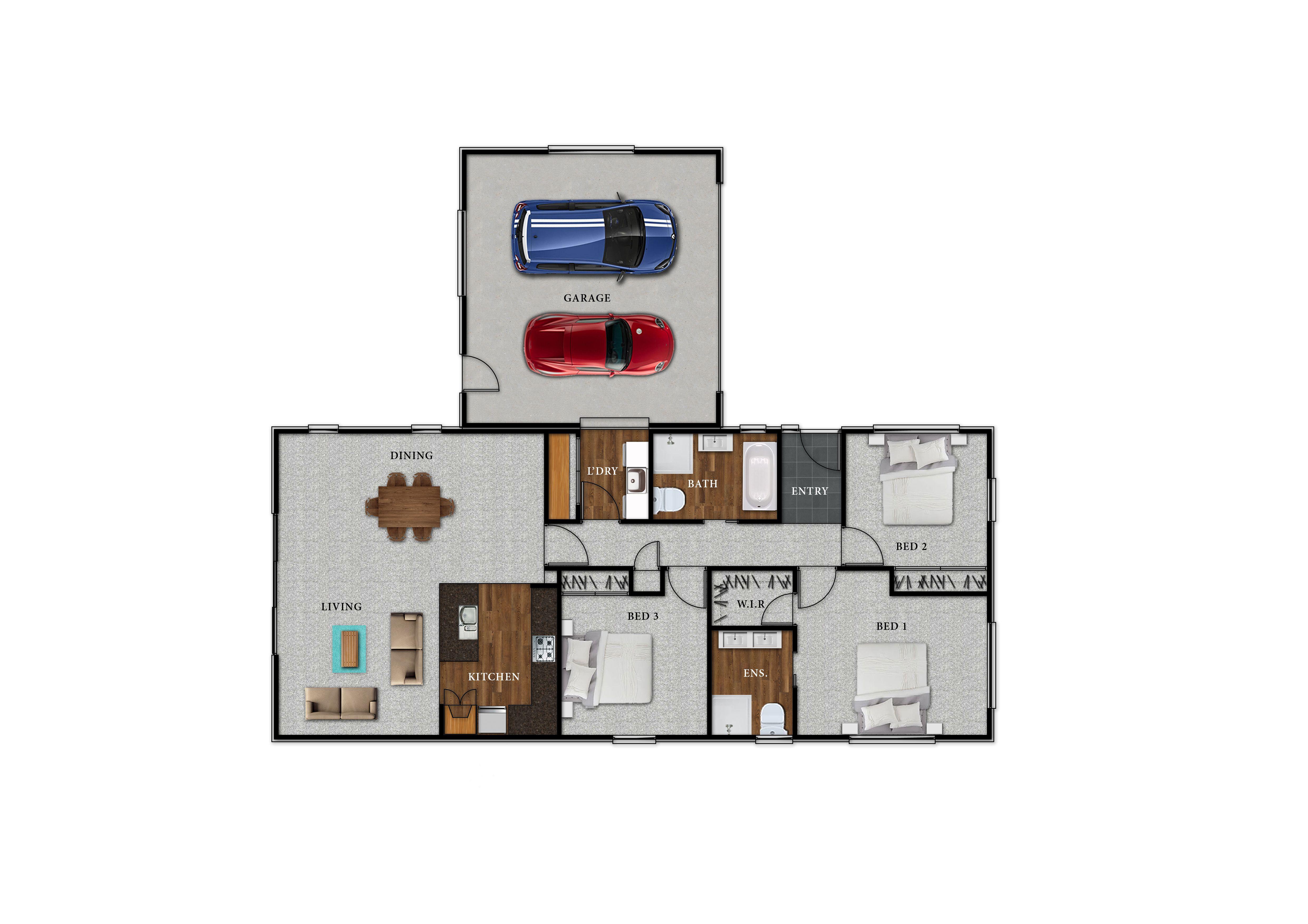 Lot 107 Kingsbridge West - Floor Plan