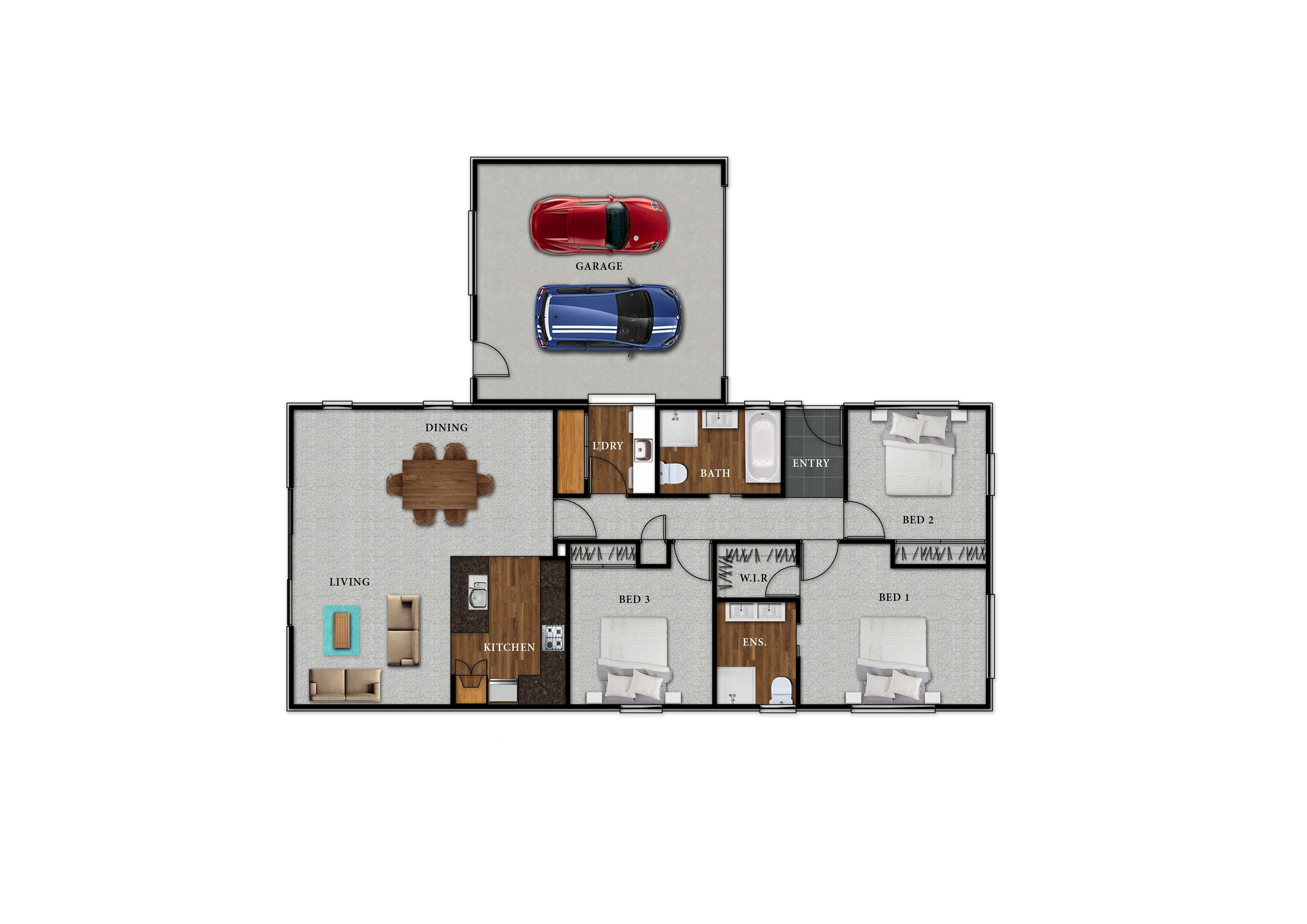 Lot 111 Kingsbridge West - Floor Plan