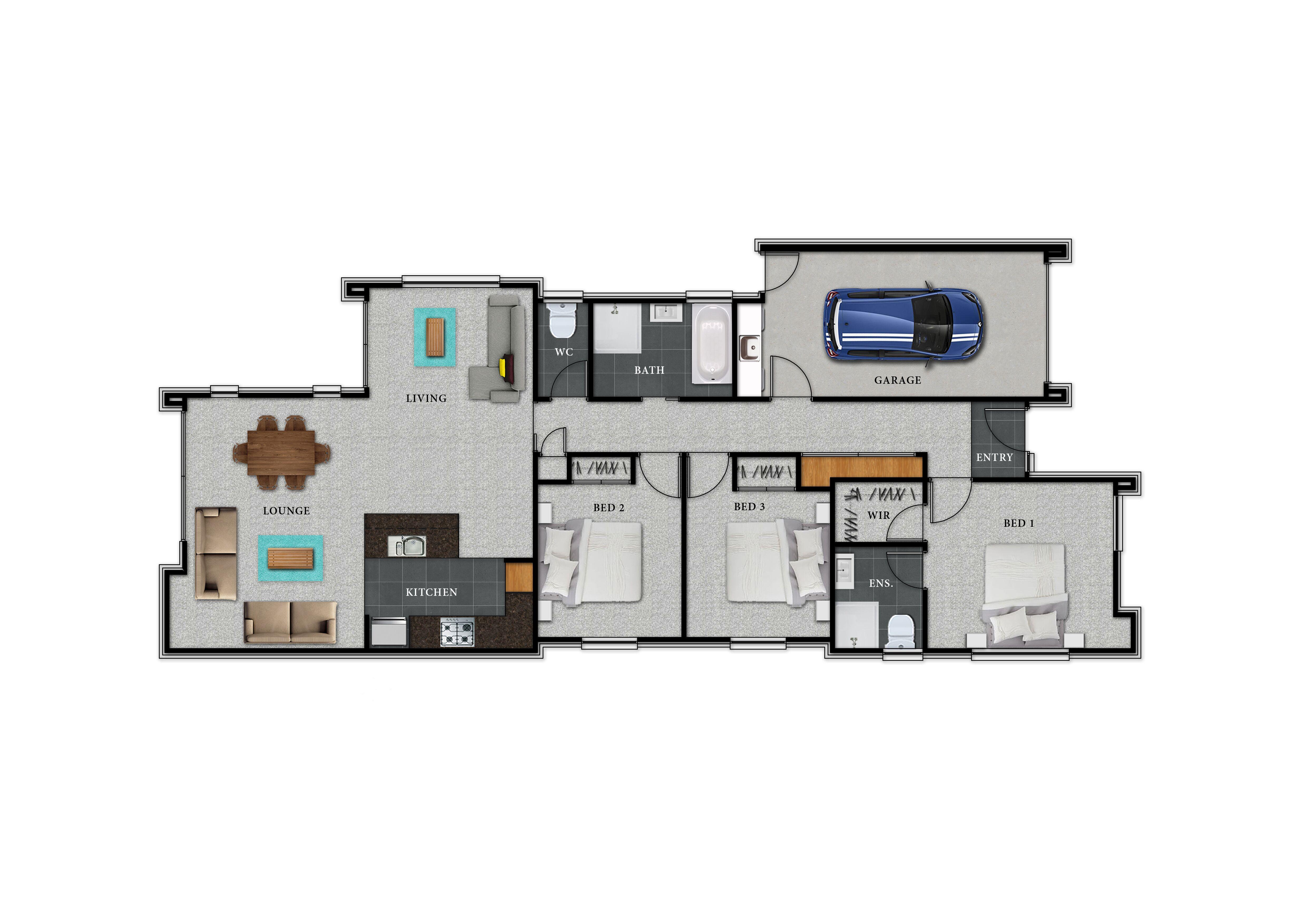 Lot 126 Rannoch - Floor Plan