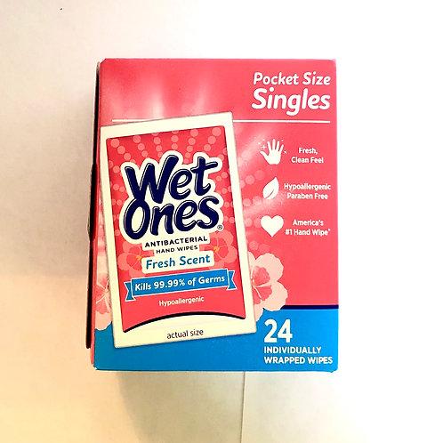 Wet Ones Pocket Size Singles (24 count)