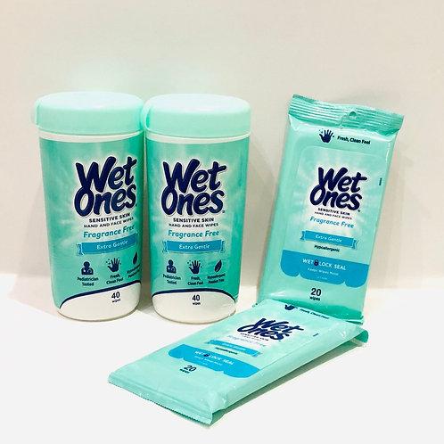 Wet Ones  - BUNDLE - Fragrance Free