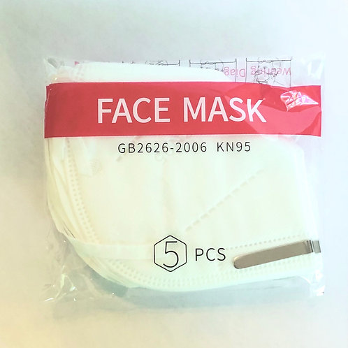 KN95 Face Mask (5 count)