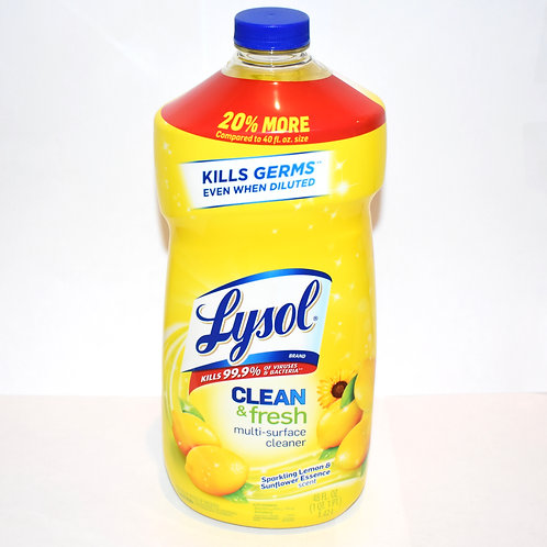 Lysol Clean and Fresh Multi-Surface Cleaner (48oz)