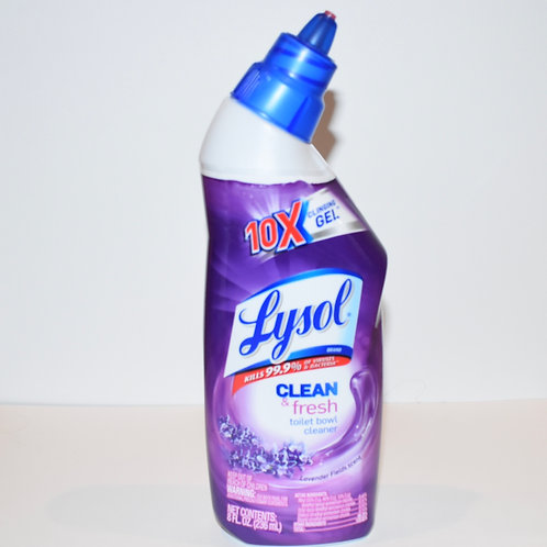 Lysol Clean and Fresh Toilet Bowl Cleaner (8oz)