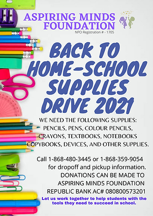 Aspiring Minds Foundation Back to home school supplies drive 2021.png