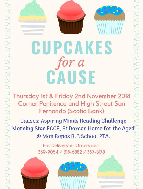 Cupcake for a Cause fundraiser