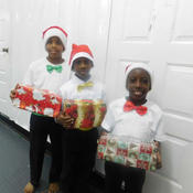 Dancers ready for Christmas Melody
