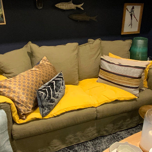 Canapé sally en lin 2 places