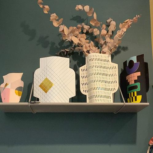 Vases en papier
