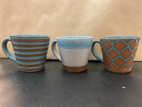 Mug terre-cuite et céramique