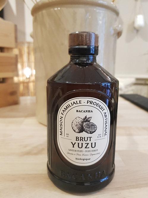 Sirop naturel - Yuzu