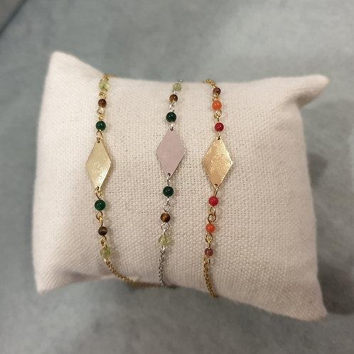 Bracelets en acier