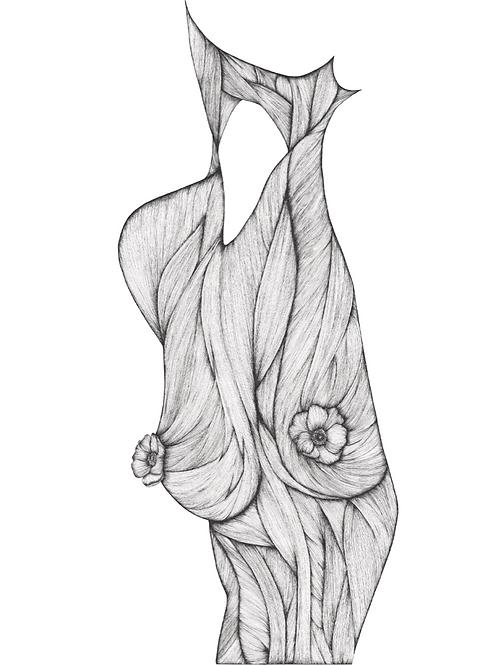 Encre - Nature en fleur