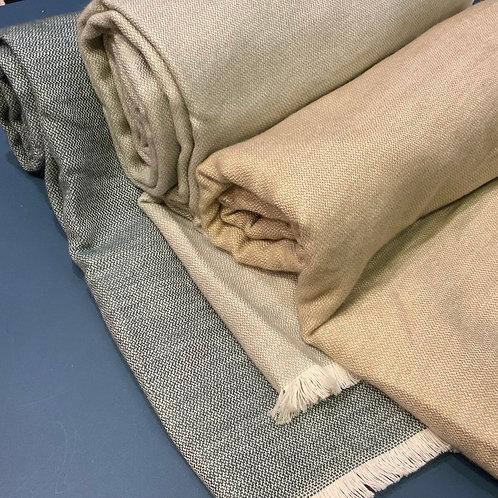 Plaid effet laine tout doux