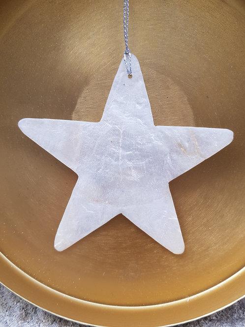 Décoration Noël en coquillage