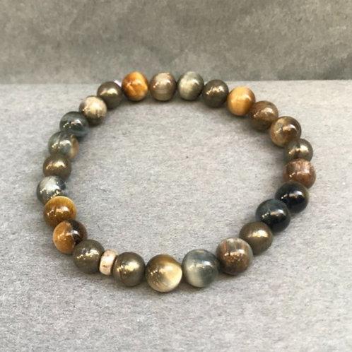Bracelet pierres semi précieuses