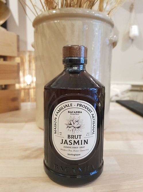 Sirop naturel - Jasmin