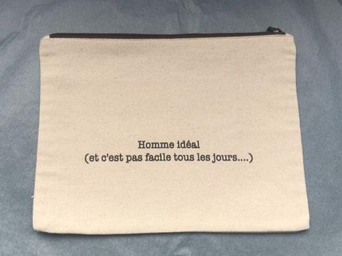 Pochettes en tissu personnalisables