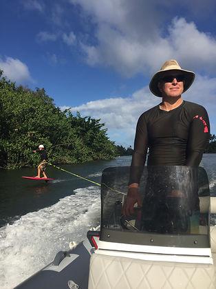 surf foil SUP lessons foil kauai hawaii lessons