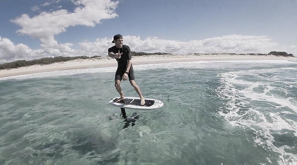 foil surf pumping kauai oahu hawaii Konrad