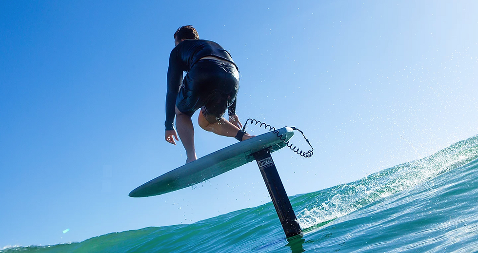 foil surf kauai hawaii Konrad hydrofoil beginner lessons