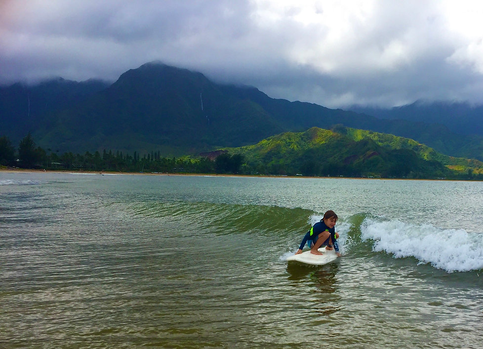 surfboard rental Poipu Kauai hawaii foil