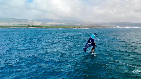 foil wing surf kauai hawaii lessons instruction