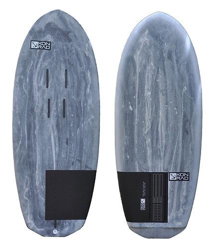 Konrad prone foil surf board GLIDR Kauai Hawaii