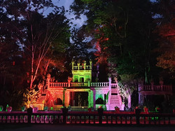 Lower castle at night