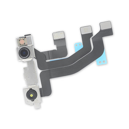 XS Max フロントカメラ+近接センサーの透明ブラケット