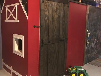 Raised in a barn {DOOR}