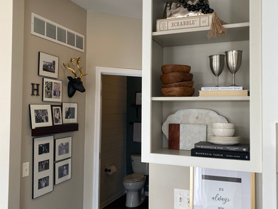 Open Shelves on a Whim...for the Win!