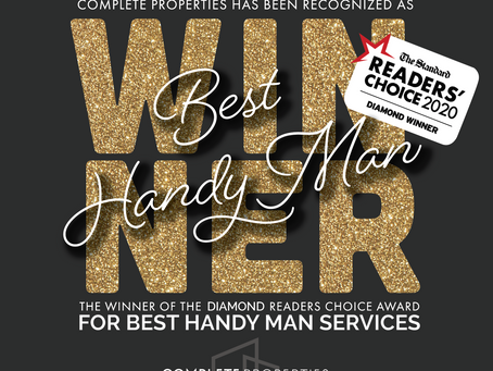 WINNER! BEST Handyman!