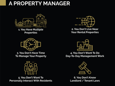 Why do you need a Property Manager?