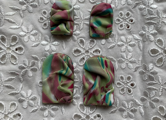 fiona (draped studs)