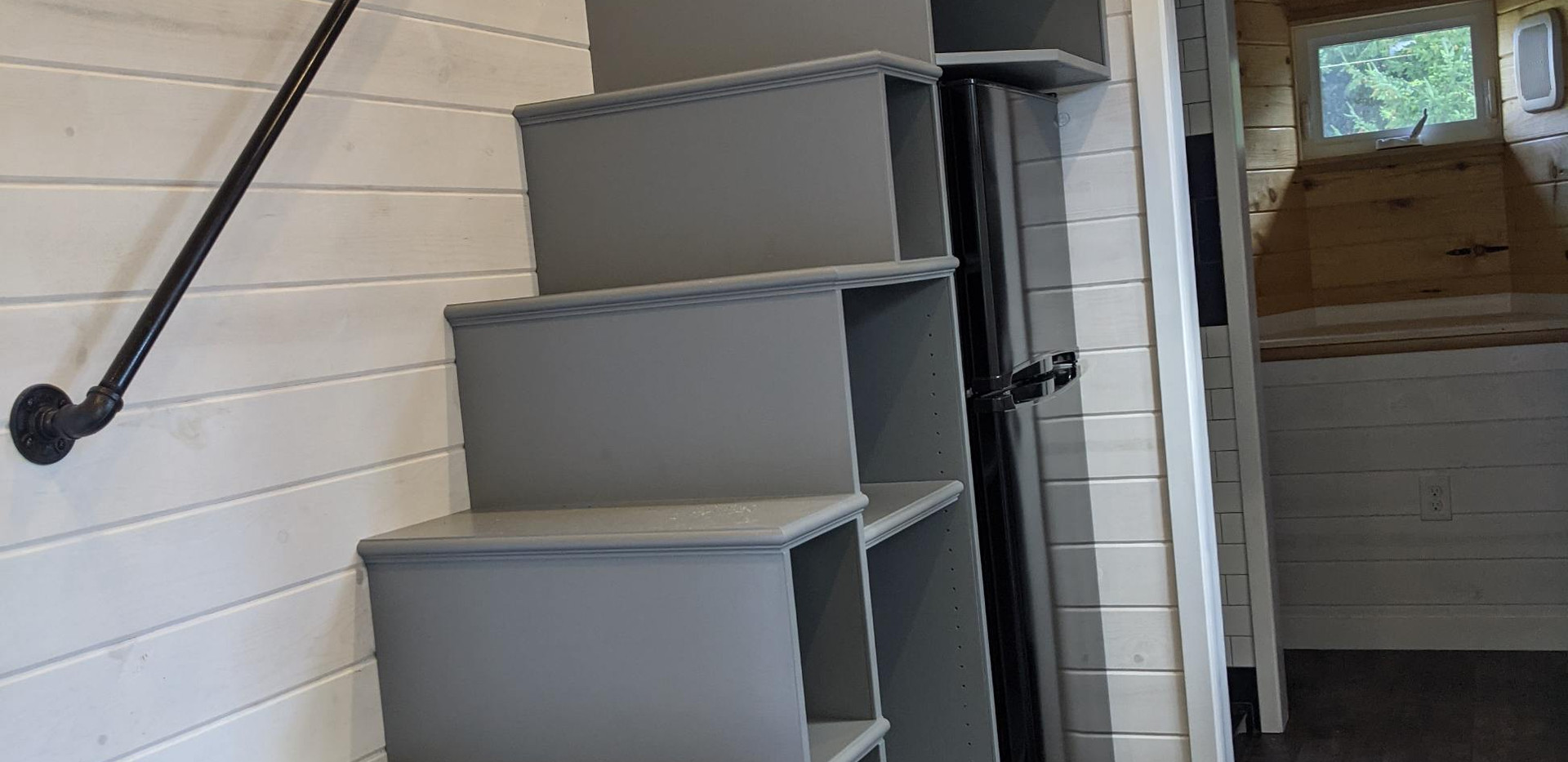 Custom Storage Stairs