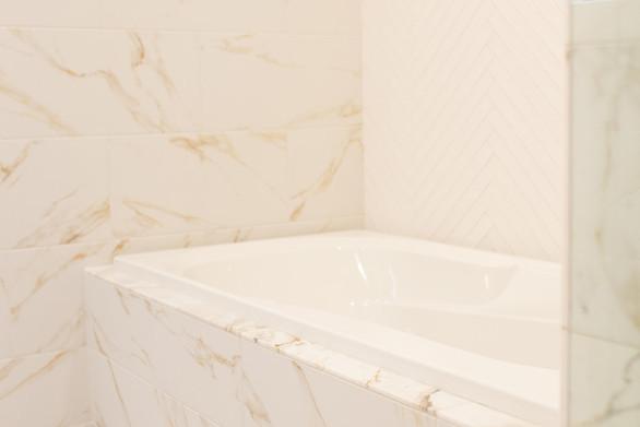 Master Bathtub/ shower area