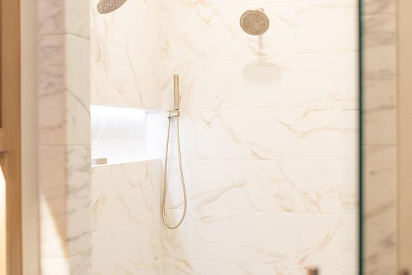 Custom Master Bathroom Shower
