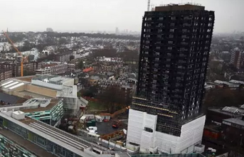 Living in the shadow of Grenfell Tower: Neighbours still without hot water and gas two weeks after high-rise disaster