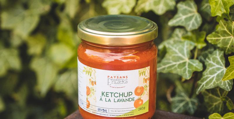 Ketchup à la lavande sauvage