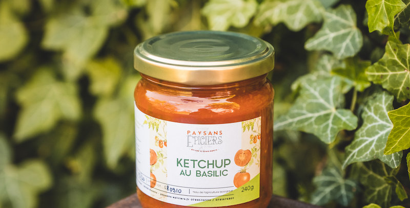 Ketchup au basilic 'Marseillais'